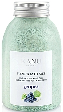 Perfumería y cosmética Sal de baño con aroma a uva - Kanu Nature Grapes Fizzing Bath Salt