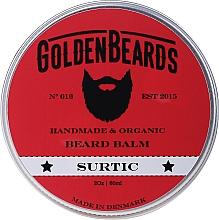 Perfumería y cosmética Bálsamo orgánico artesanal para barba con mantecas de karité, cacao y aceite de lima - Golden Beards Beard Balm Surtic