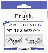 Perfumería y cosmética Pestañas postizas con pegamento incluido - Eylure Pre-Glued Lengthening №155