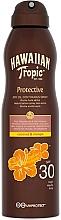 Perfumería y cosmética Aceite seco bronceador en spray con coco y mango - Hawaiian Tropic Protective Dry Oil Spray SPF 30