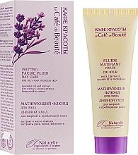 Perfumería y cosmética Fluido facial matificante con aceite de lavanda, extractos de arroz y peonía - Le Cafe de Beaute Matting Fluid