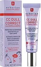 Perfumería y cosmética Crema correctora facial con centella asiática - Erborian CC Dull Correct SPF 25