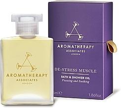 Perfumería y cosmética Aceite de baño y ducha de pimienta negra y jengibre - Aromatherapy Associates De-Stress Muscle Bath & Shower Oil