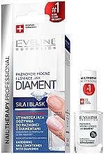 Perfumería y cosmética Tratamiento endurecedor de uñas con polvo de diamante y titanio - Eveline Cosmetics Nail Therapy Professional