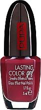 Perfumería y cosmética Esmalte de uñas, efecto gel brillante - Pupa Lasting Color Gel