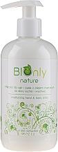 Perfumería y cosmética Loción hidratante para manos y cuerpo con aceite de amapola - BIOnly Nature Moisturizing Hand & Body Lotion