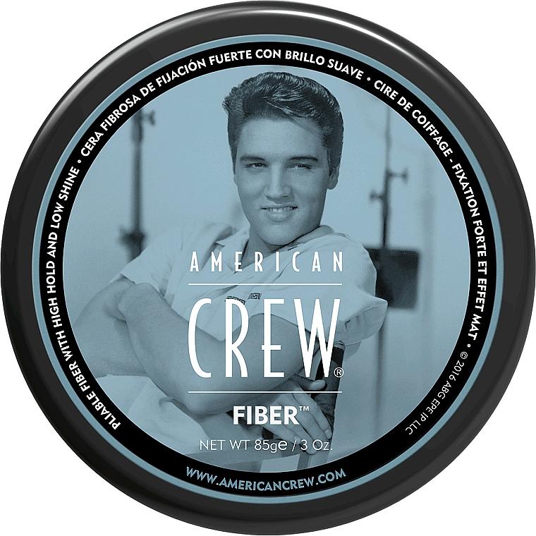 Cera fibrosa de fijación fuerte con brillo suave y efecto mate - American Crew Classic Fiber