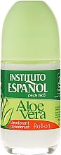 Perfumería y cosmética Desodorante roll-on con aloe vera - Instituto Español Aloe Vera Roll-on Deodorant