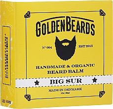 Perfumería y cosmética Bálsamo orgánico artesanal para barba con manteca de karité y aceite esencial de albaricoque - Golden Beards Beard Balm Big Sur