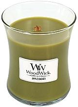 Perfumería y cosmética Vela aromática en vaso, manzana - WoodWick Hourglass Candle Apple Basket