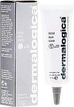 Perfumería y cosmética Crema contorno de ojos protectora con extracto de naranja amargo - Dermalogica Total Eye Care SPF 15