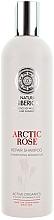 Perfumería y cosmética Champú con extracto de rosa ártica, algas de las islas Feroe y hierbas silvestres siberianas - Natura Siberica Arctic Rose Repair Shampoo