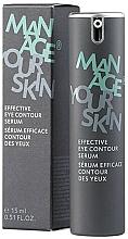 Perfumería y cosmética Sérum para contorno de ojos con ácido hialurónico y retinol - Dr. Spiller Manage Your Skin Effective Eye Contour Serum