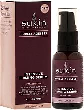 Perfumería y cosmética Sérum facial reafirmante con aceites de macadamia y argán - Sukin Purely Ageless Firming Serum