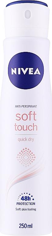 Spray desodorante antitranspirante - Nivea Soft Touch Quick Dry 48H Anti-Perspirant Spray