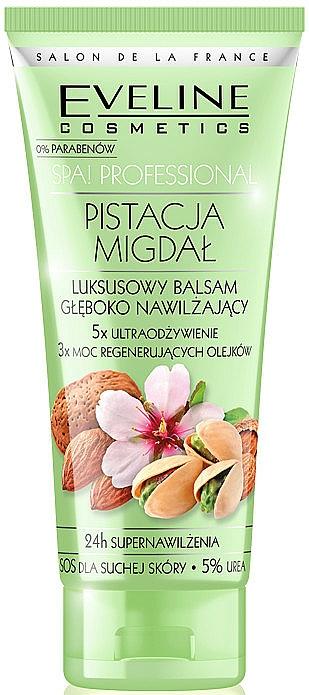 Bálsamo corporal hidratante con aceite de coco y manteca de karité - Eveline Cosmetics Spa Professional