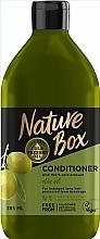 Perfumería y cosmética Acondicionador para cabello largo con aceite de oliva prensado en frío - Nature Box Conditioner Olive Oil