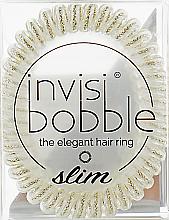 Perfumería y cosmética Coletero espiral de silicona - Invisibobble Slim Stay Gold