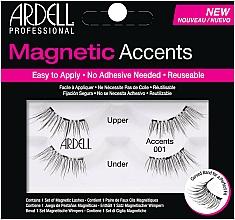 Perfumería y cosmética Pestañas postizas - Ardell Magnetic Lashes Accents 001