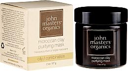 Perfumería y cosmética Mascarilla facial con arcilla marroquí, gel de aloe vera & extracto de lavanda - John Masters Organics Moroccan Clay Purifying Mask