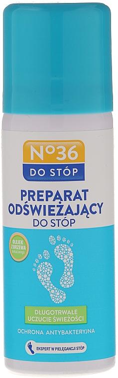 Spray antibacteriano para pies con aceite de árbol de té - Pharma CF No36