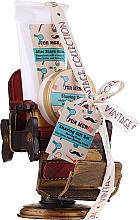 Perfumería y cosmética Pokhara For Men Vintage Shaving Gift Set - Set de afeitado (jabón/50g+ bálsamo aftershave/150ml+ brocha/1ud+ accesorio)