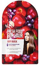 Perfumería y cosmética Mascarilla capilar hidratante con extractos de uvas y manzana - Superfood For Skin Fresh Food For Hair