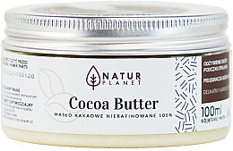 Perfumería y cosmética Manteca corporal de cacao - Natur Planet Cocoa Butter