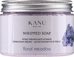 Perfumería y cosmética Jabón-mousse exfoliante con aroma a magnolia - Kanu Nature Floral Meadow Peeling Soap