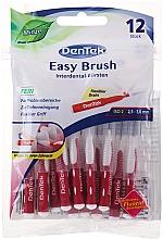 Perfumería y cosmética Cepillos interdentales flexibles, 2,3-3,8mm, 12uds. - DenTek Easy Brush
