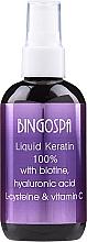 Perfumería y cosmética Queratina para cabello con vitamina C - Bingospa Liquid 100% Keratin with Biotine