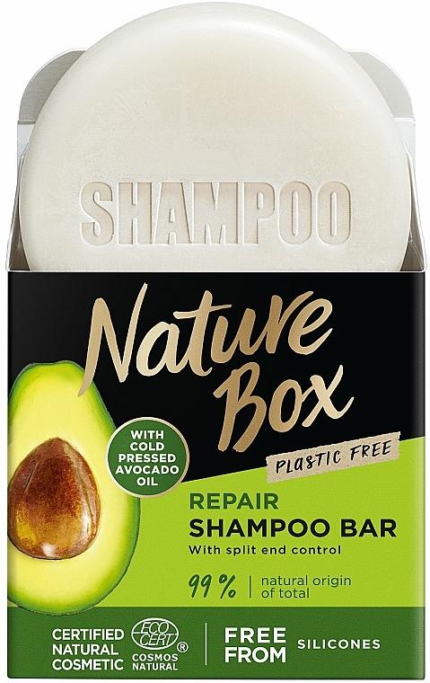 Champú sólido con aceite de aguacate - Nature Box Avocado Dry Shampoo