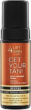 Perfumería y cosmética Espuma autobronceadora con agua de coco y extracto de vainilla - Lift4Skin Get Your Tan! Self Tanning Bronze Foam