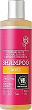 Perfumería y cosmética Champú con aroma a rosa 100% natural y orgánico - Urtekram Rose Shampoo Normal Hair