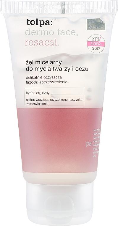 Gel micelar hipoalergénico con extracto de turba y sófora japónica - Tolpa Dermo Face Rosacal Face Gel