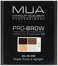 Perfumería y cosmética Kit de esculpido de cejas - MUA Pro-Brow Ultimate Eye Brow Kit