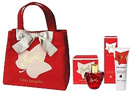 Perfumería y cosmética Lolita Lempicka Sweet - Set (eau de parfum/50 + loción corporal/75ml + bolso cosmético)