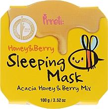 Perfumería y cosmética Mascarilla facial nutritiva con miel de acacia y bayas - Prreti Honey & Berry Sleeping Mask