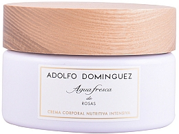 Perfumería y cosmética Adolfo Dominguez Agua Fresca De Rosas - Crema corporal nutritiva