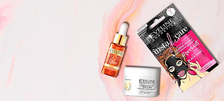Por la compra de productos Eveline Cosmetics superior a 9 €, llévate de regalo