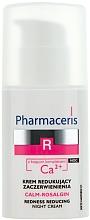 Perfumería y cosmética Crema de noche calmante con iones de calcio y aceite de grosella negra - Pharmaceris R Calm-Rosalgin Night Cream