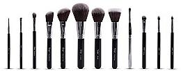 Perfumería y cosmética Set brochas de maquillaje - Nanshy Masterful Collection Onyx Black