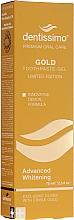 Perfumería y cosmética Pasta dental blanqueadora con aceite de ricino - Dentissimo Advanced Whitening Gold Toothpaste