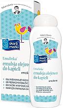 Perfumería y cosmética Emulsión de baño para bebés y niños, adecuado para pieles con tendencia atópica - Skarb Matki
