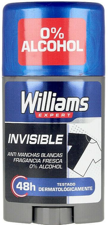 Desodorante stick - Williams Expert Invisible Deodorant Stick