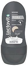 Perfumería y cosmética Roll-on desodorante - Lactovit Men Invisible Deodorant Roll-On