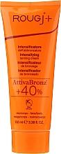 Perfumería y cosmética Crema facial intensificadora de bronceado para rostro y cuerpo - Rougj+ Intensifying Tanning Cream
