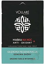 Perfumería y cosmética Mascarilla facial de noche regeneradora con vitamina A - Vollare Anti-Oxidant Sleeping Mask