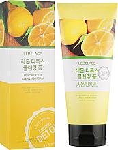 Perfumería y cosmética Espuma limpiadora detoxificante con extracto de limón - Lebelage Lemon Detox Cleansing Foam