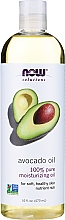 Perfumería y cosmética Aceite de aguacate 100% natural - Now Foods Solution Avocado Oil